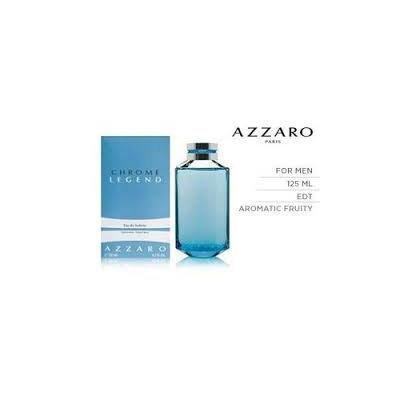 Azzaro Chrome Legend Eau De Toilette Spray Men 4.2 fl. oz.