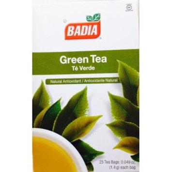 Badia Green Tea Natural Antioxidant Te Verde 50 Bags 2 Pack