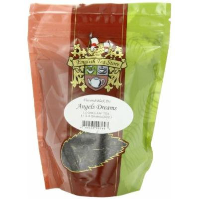 English Tea Store Loose Leaf, Angels Dream Tea Pouches, 4 Ounce
