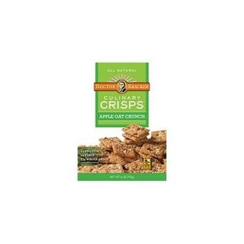 Dr. Kracker Apple Oat Crunch Culinary Crisps 6 Oz (Pack of 6) - Pack Of 6