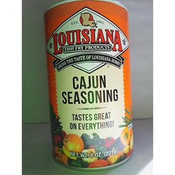 Louisiana Cajun Seasoning, 8 oz, (pack of 4)