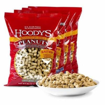 Hoody's In-Shell Peanuts Roasted Salted 4-pack