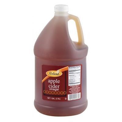 Roland: Apple Cider Vinegar 1 Gallon (4 Pack)