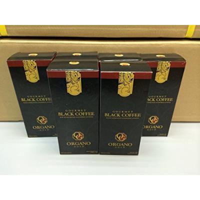 6 Boxes Organo Gold Gourmet Black Coffee