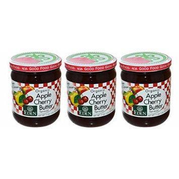 Eden Apple Cherry Butter Value 3 Pack