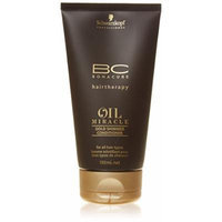 Schwarzkopf 16059100744 BC Oil Miracle Gold Shimmer Conditioner - For All Hair Types - 150ml-5oz