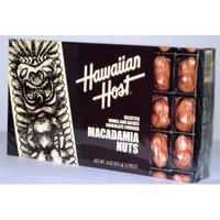 Hawaiian Host SELECTED WHOLE AND HALVES CHOCOLATE COVERED MACADAMIA NUTS GIFT BOX NET WT 16 OZ (453 g)