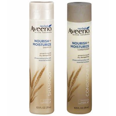 Aveeno® Nourish and Moisture Shampoo and Conditioner  set