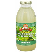 Bragg - Organic Apple Cider Vinegar All Natural Drink Limeade - 16 oz. (Pack of 2)