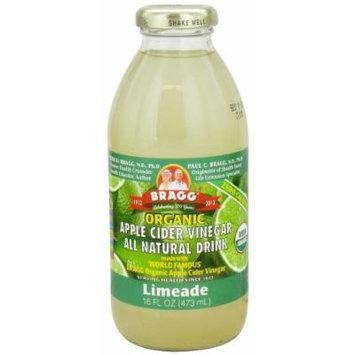Bragg - Organic Apple Cider Vinegar All Natural Drink Limeade - 16 oz. (Pack of 2)