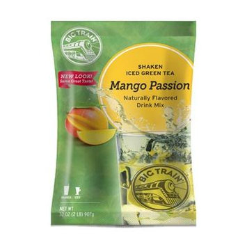 Big Train Mango Passion Shaken Ice Tea, 32-Ounce