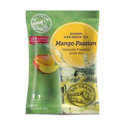 Big Train Mango Passion Shaken Ice Tea, 32-Ounce