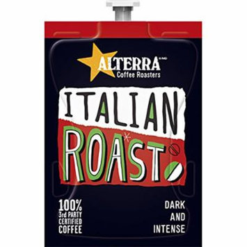 FLAVIA ALTERRA Coffee, Italian Roast, 20-Count Fresh Packs (Pack of 1 Rail)