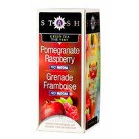 Stash Tea Pomegranate Raspberry Green Tea, 30 Count Tea Bags in Foil (Pack of 6)