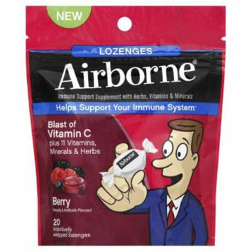 Airborne Lozenges Berry 20 CT (PACK OF 2)