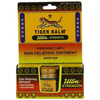 Tiger Balm Pain Relieving Ointment, Non-Staining, Ultra Strength, 2 Count