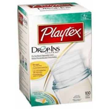 Playtex Drop-Ins 4 oz Liners, 100 ct