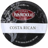 PapaNicholas Coffee Single Serve Coffee Cups Fits Keurig K Cup Brewers, Costa Rican, 12 Count