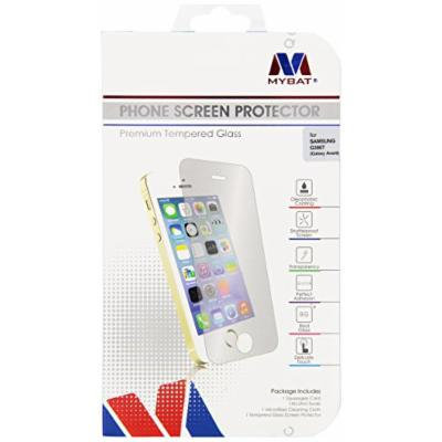 MyBat SAMSUNG G386T (Galaxy Avant) Tempered Glass Screen Protector - Retail Packaging - Clear