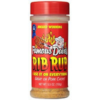 Famous Dave's Seasoning Rib Rub, 5.5-ounce (Pack of 2)