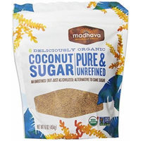 Madhava Organic Coconut Sugar, 16 Ounce Bag (Pack of 3)