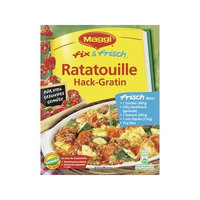 MAGGI fix & fresh ratatouille gratin with ground beef (Ratatouille Hack-Gratin) (Pack of 4)