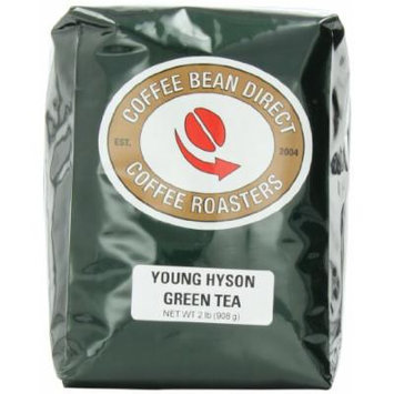Coffee Bean Direct Young Hyson Green Loose Leaf Tea, 2 Pound Bag