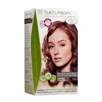 Naturigin Permanent Hair Color, Medium Blonde Red