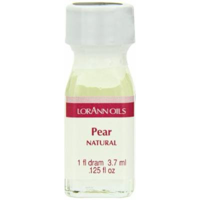 LorAnn Oils Flavorings and Essential Oils, Pear, 0.125 Ounce (Pack of 12)
