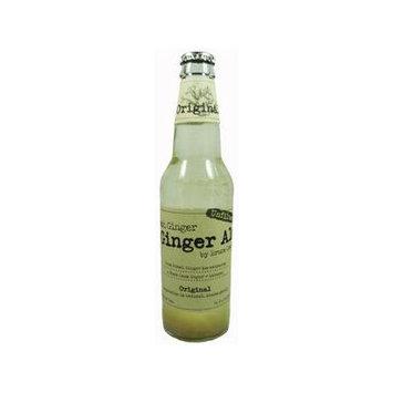 Bruce Cost Fresh Ginger Original Unfiltered Ginger Ale 12 oz. Bottles 24 Pack