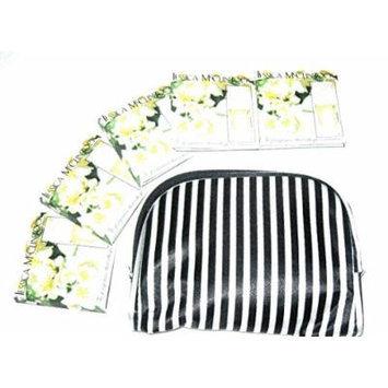 Jessica McClintock Travel Gift Set - 5 Perfume Vials in Cosmetic Bag