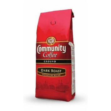 Community Coffee Dark Roast Signature Blend 12 Oz. Size