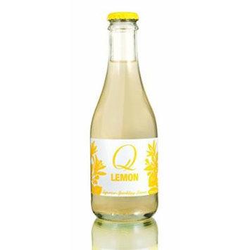 Q Drinks Sparkling Soda, Lemon, 9-Ounce (Pack of 24)