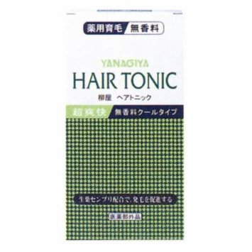 YANAGIYA Hair Tonic No Fragrance Cool 240ml (Japan Import)