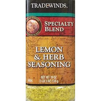 19oz Trade Winds Lemon & Herb Seasoning, Pack of 1