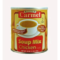 CARMEL Chicken Flavor Soup Mix , 1 lb. Canisters (Pack of 4)