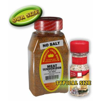 Marshalls Creek Spices Meat Tenderizer, No Salt, 11 oz