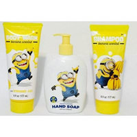 Bundle Minion Kids Shampoo Body Wash Hand Soap Trio