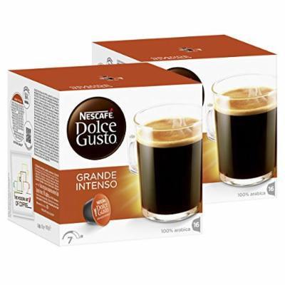 Nescafé Dolce Gusto Caffè Grande Intenso, Pack of 2, 2 x 16 Capsules (16 Servings)