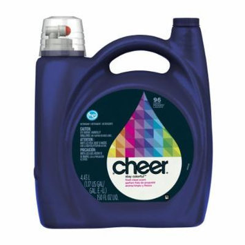 Cheer 2x Ultra Liquid Detergent He Fresh Clean Scent 96 Loads 150 Fl Oz (Pack of 4)