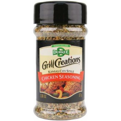 Durkee Grill Creations Kansas City Style Chicken Seasoning (Pack of 2, 2.0 oz bottles)