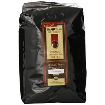 The Bean Coffee Company, El Grano Suave (Classic Columbian Excelso) Ground Coffee, Decaffeinated, 5-Pound Bags