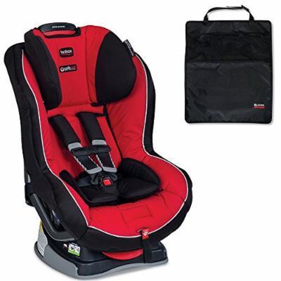 Britax Boulevard G4.1 Convertible Car Seat w Kick Mats, 2-Count, Black (Congo)