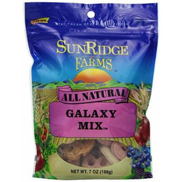 Sunridge Farms Galaxy Mix, 7-Ounce Bags (Pack of 12)