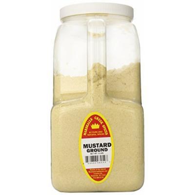 Marshalls Creek Spices XXL Restaurant Size Spice Jug, Mustard Seed Ground, 4 Pound