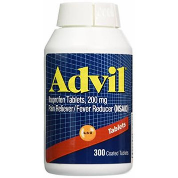 Advil Tablets (Ibuprofen), 200 mg (Pack of 2)