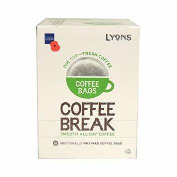 Lyons - Coffee Break - Coffee Bags - 125g (Case of 4)