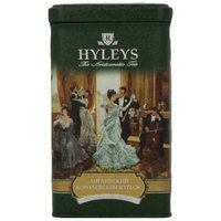 Hyleys Tea English Royal Blend Loose Black Tea, 4.4-Ounce Tin (Pack of 4)