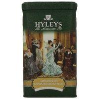 Hyleys Tea English Royal Blend Loose Black Tea, 4.4-Ounce Tin (Pack of 4)