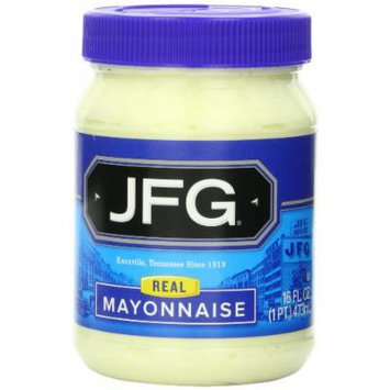 JFG Mayonnaise, 16-Ounce (Pack of 6)